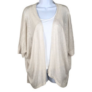 Painted Threads Cardigan Batwing Open Front XS